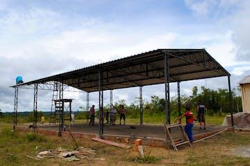 Brazil, Amazon Church Construction